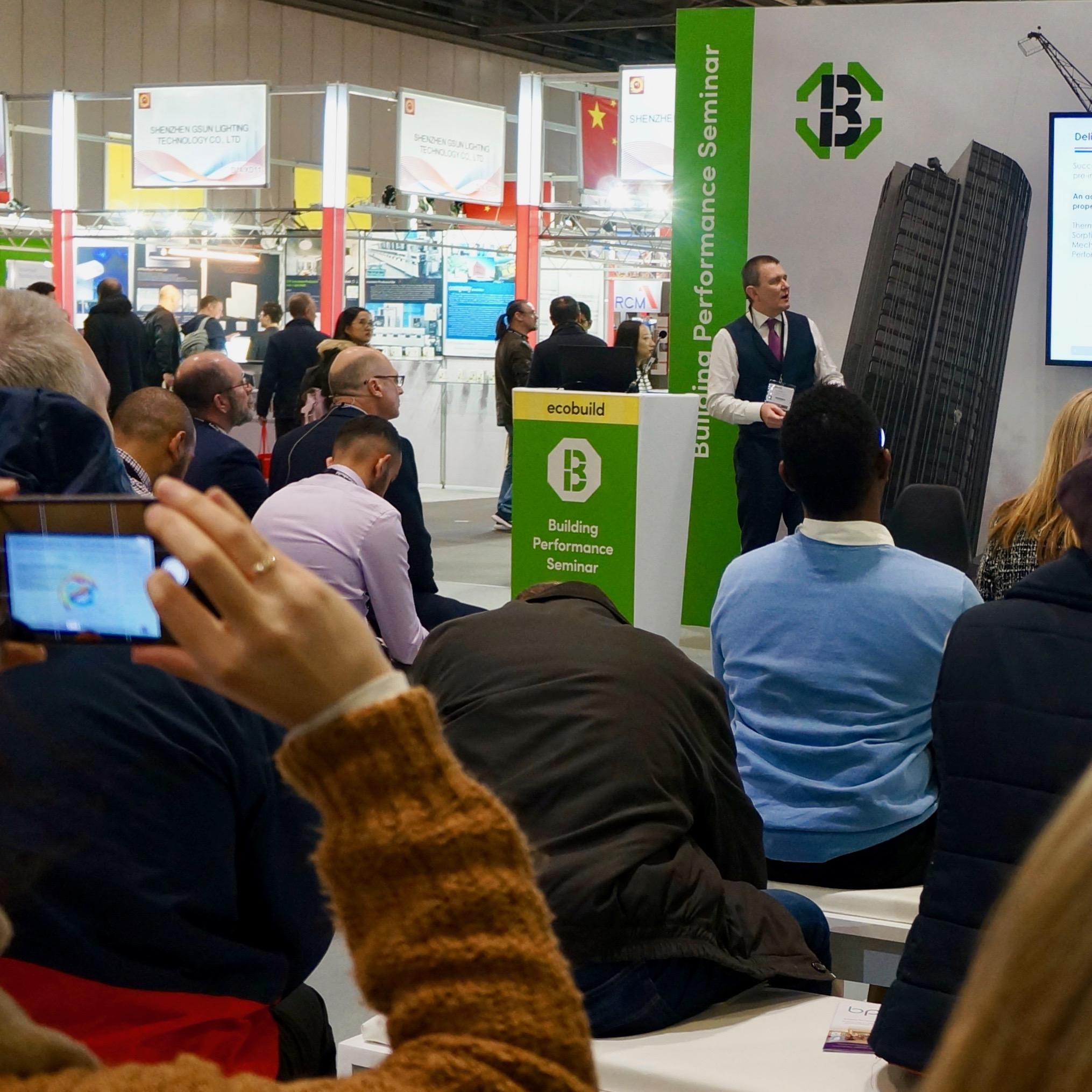 Ecobuild 2018 Presentation 3 - Paul Valentine, BBA