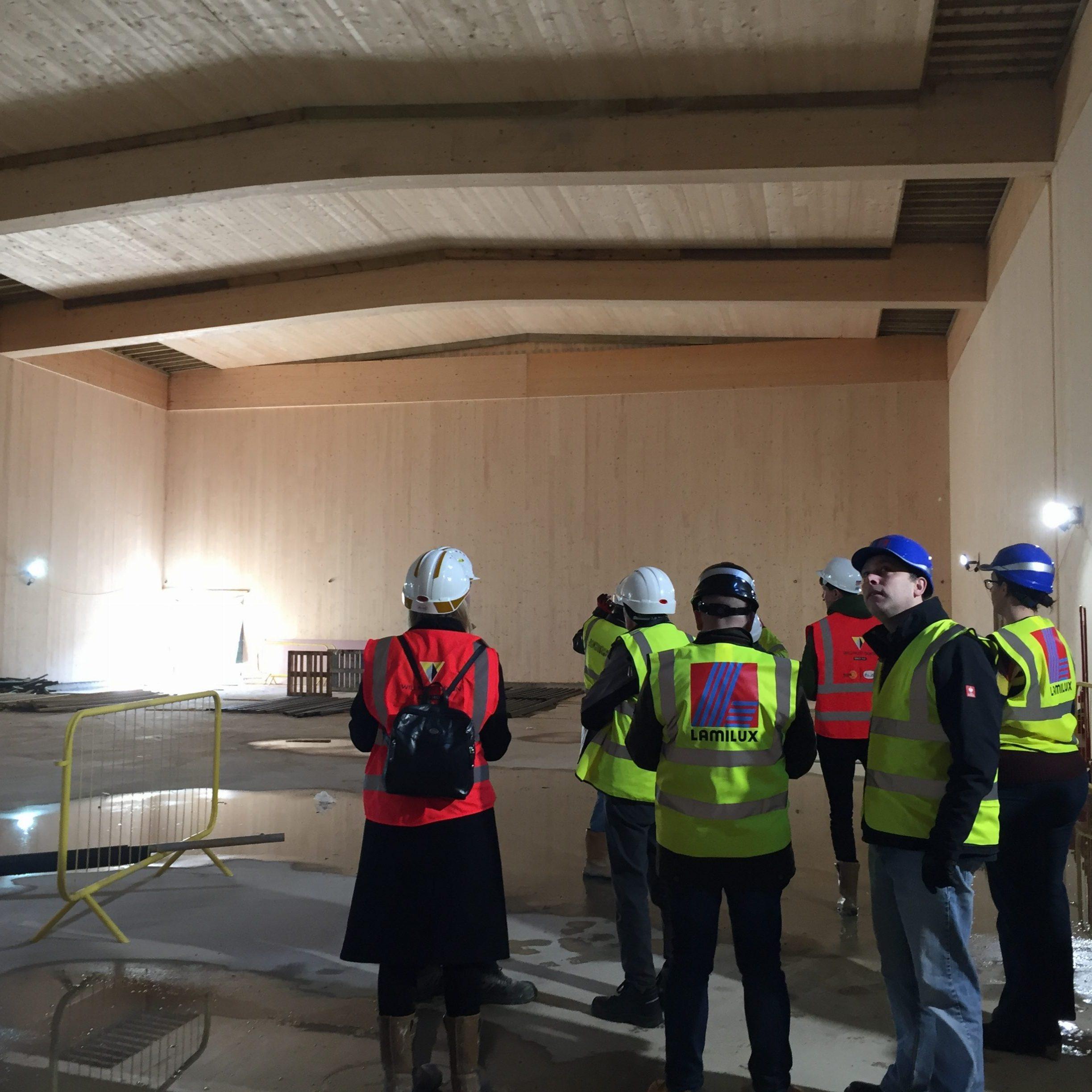 Event report: BPN/ PHT site visit to Passivhaus Secondary School Sutton