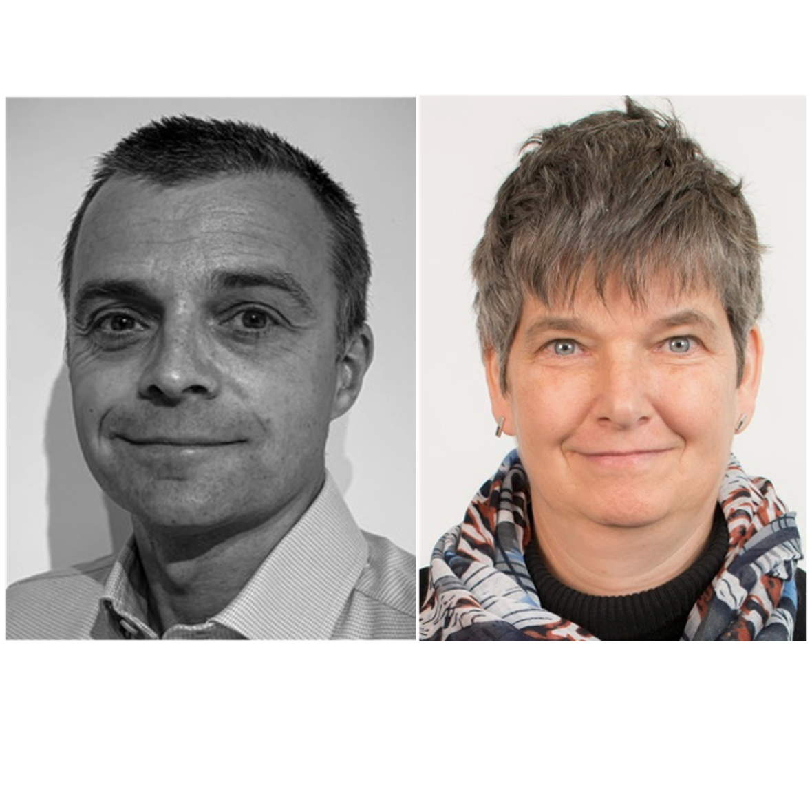 New team members: Ross Holleron and Prof Fionn Stevenson